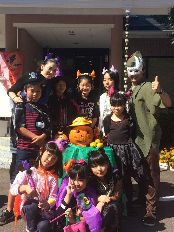 南里英語教室 ハロウィン 2014 ⑪