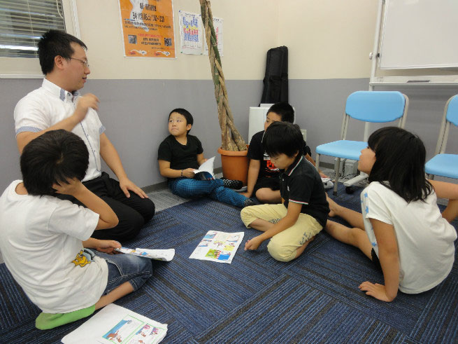 南里英語教室 音読発表会 2014 ②