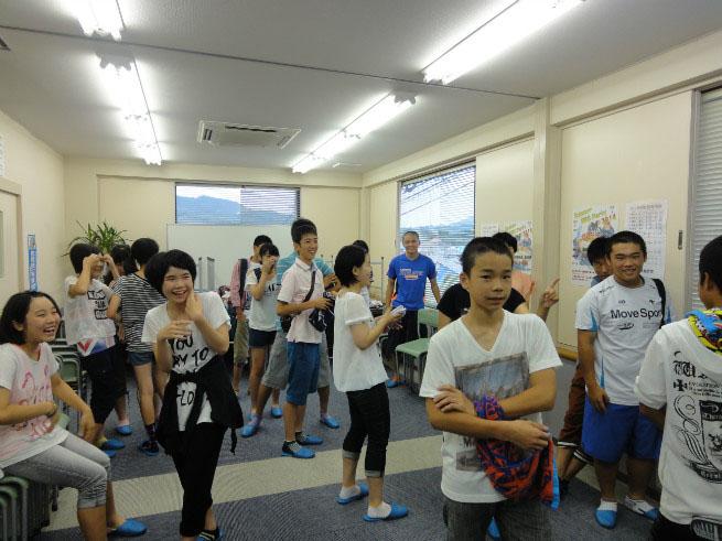 南里英語教室 BBQ 2014 ⑤